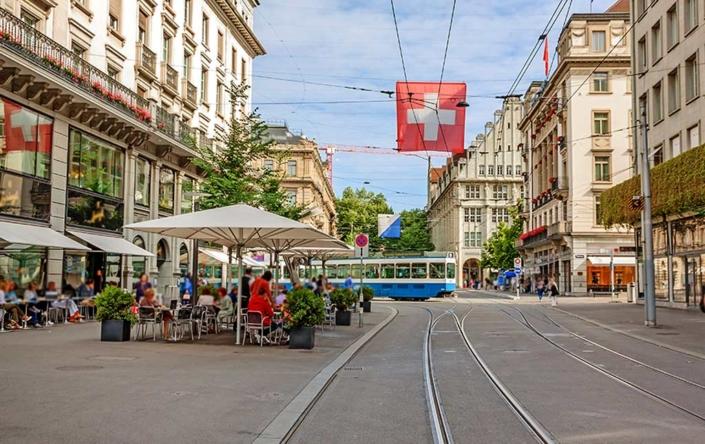 Zürich - Bahnhofstraße